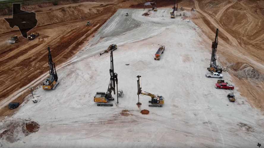 Drilling Begins To Set Foundation At Tesla Giga Austin