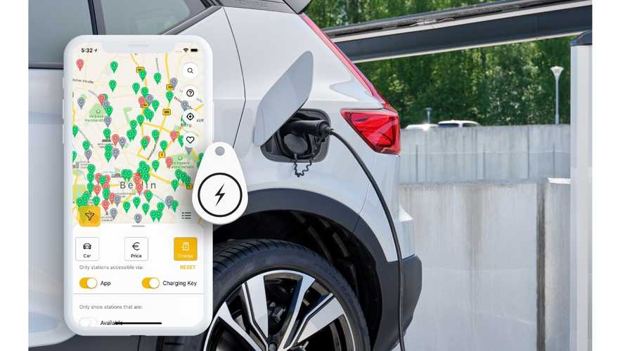 Volvo BEVs to use Plugsurfing for public charging in Europe