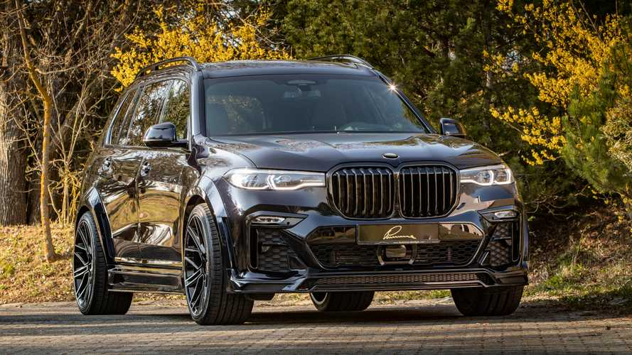 BMW X7 By Lumma Design Adds Aggressive Body Kit For $18k