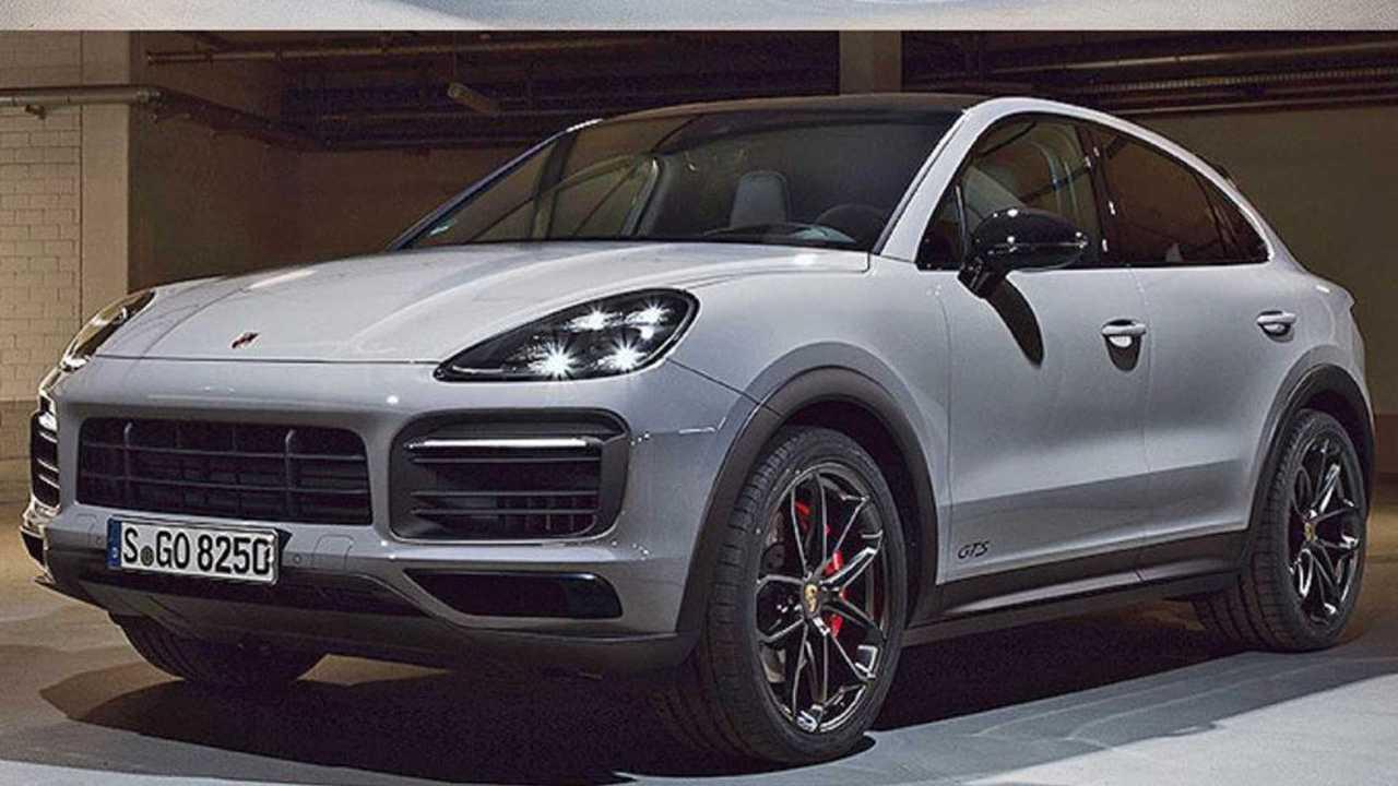2021 Porsche Cayenne Coupe GTS  Sızan Görseller