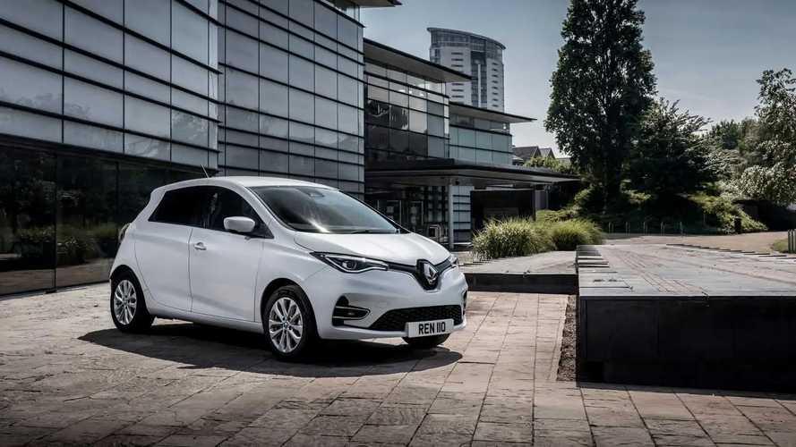 Renault ZOE Van in the UK