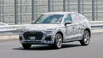 2021 Audi Q5 Sportback new spy photos