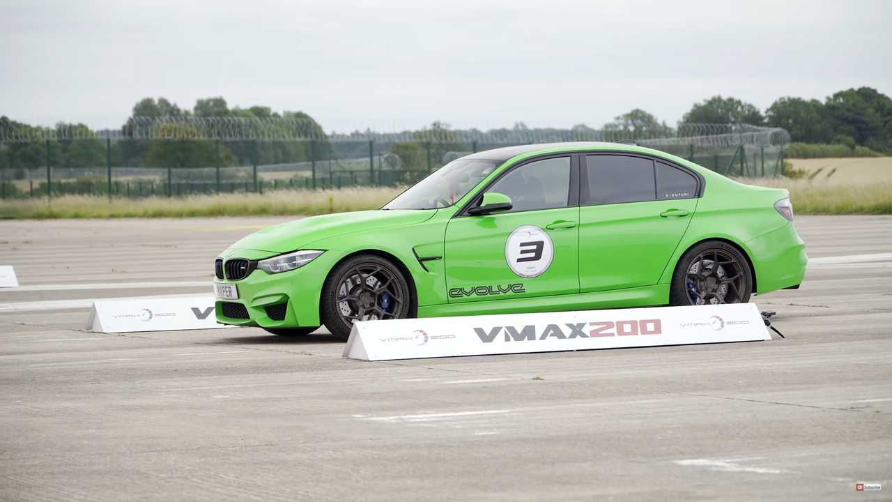 BMW M3 Speed Run