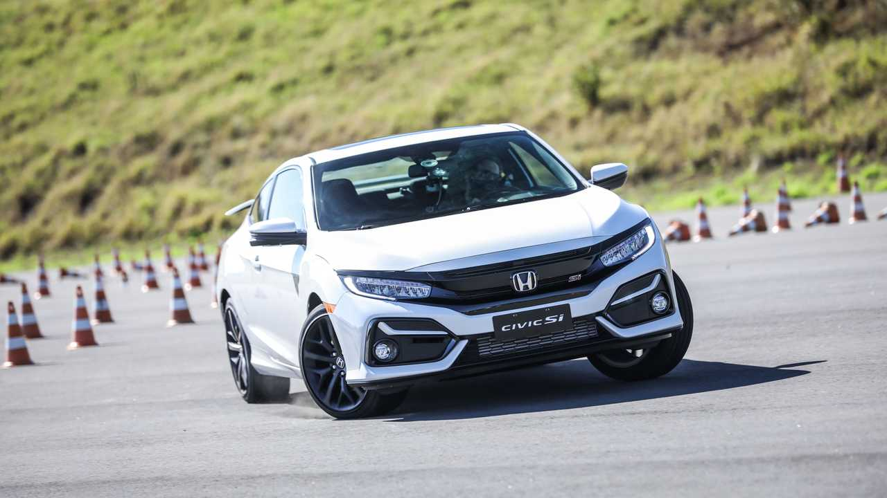 Honda Civic Si 2020 na pista