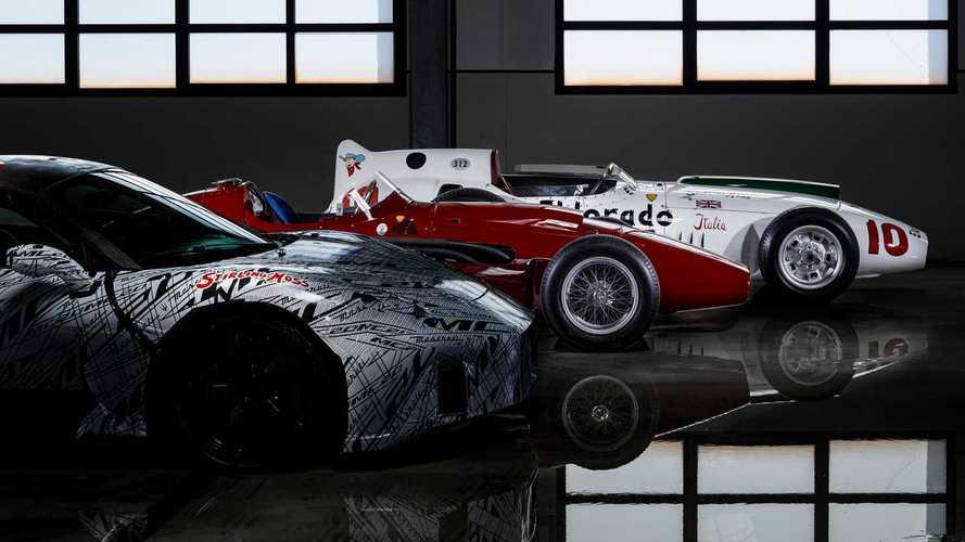 Новый суперкар Maserati сменил камуфляж в честь гоночной легенды