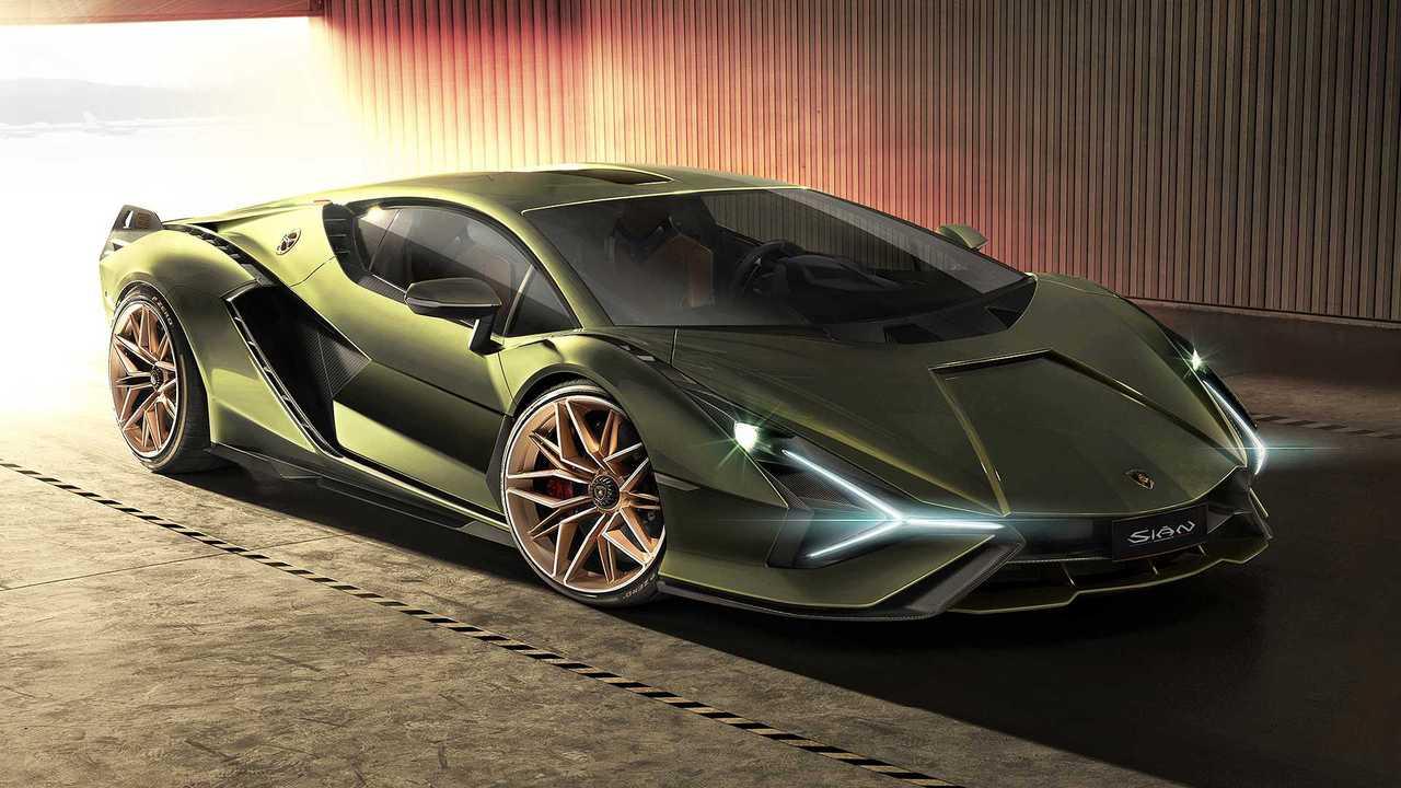 Lamborghini Sian FKP 37 (2020) – 2,44 миллиона евро
