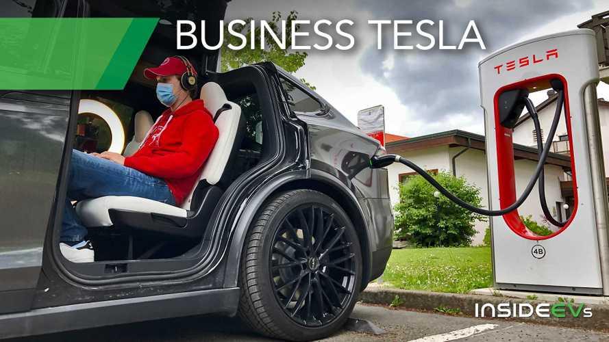Trasformare una Tesla in un ufficio mobile: ecco la lista della spesa