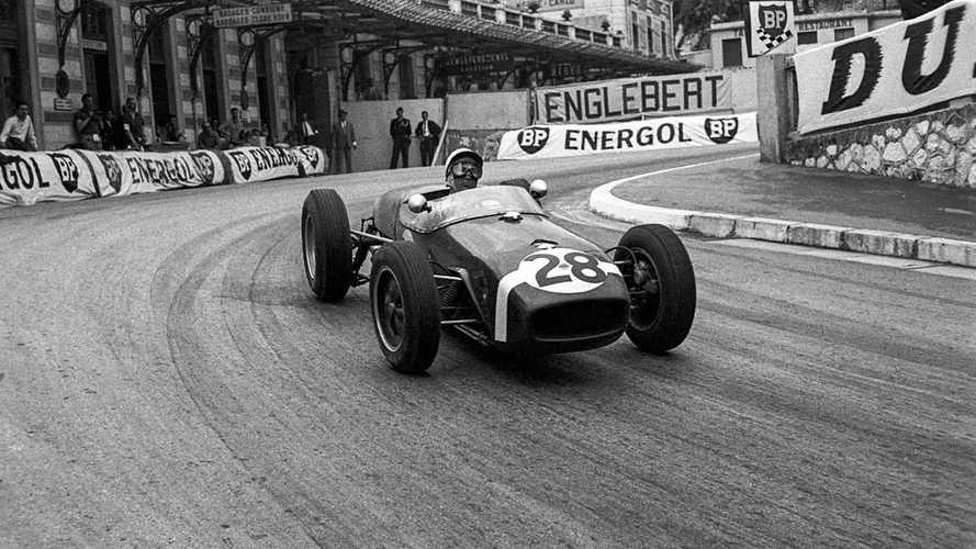 Stirling Moss at the 1960 Monaco Grand Prix