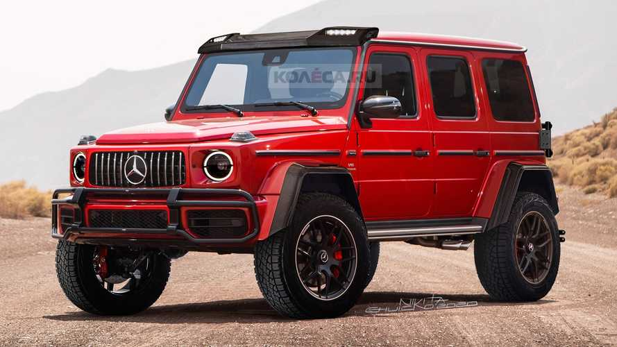 Mercedes G-Class 4×4² Renderings Take After The Spy Photos