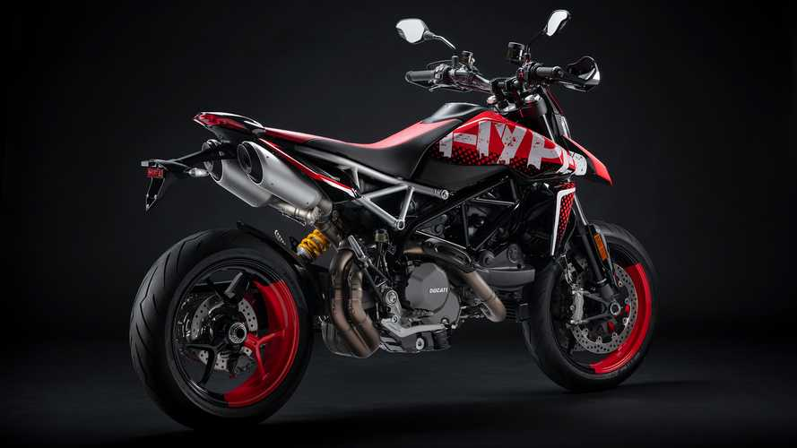 Ducati Hypermotard 950 RVE Levels Up The Motard's Graphics Game