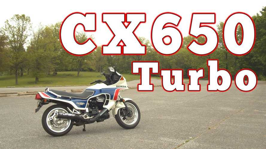 Here's A 1983 Honda CX650 Turbo Review From 2020