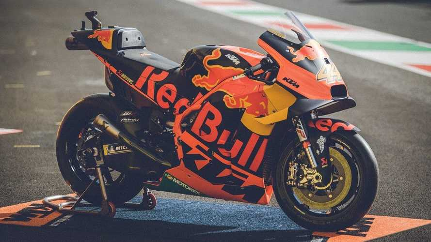 KTM To Sell A Pair Of 2019 RC16 MotoGP Race Bikes