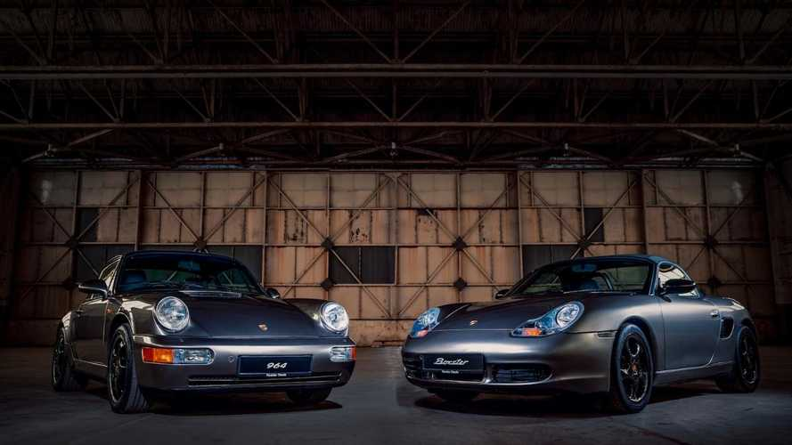 Restored anniversary Porsches on display at Classic Motor Show