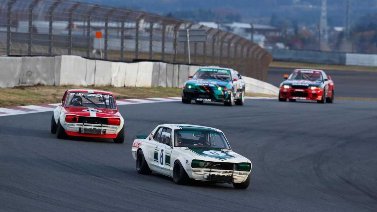 Classic Nissan racers hit the track for 60th anniversary