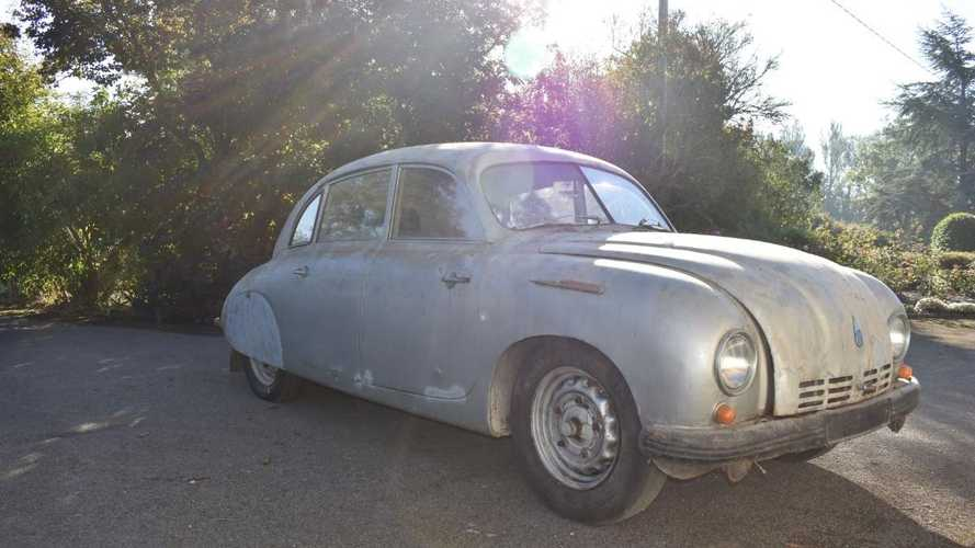 Rare Cold War Tatra T600 goes to auction