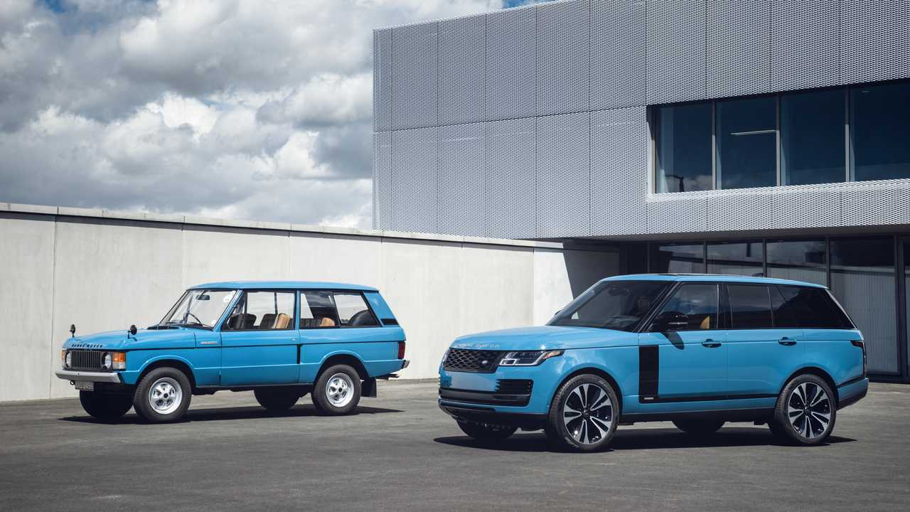Range Rover Fifty Limited Edition