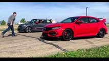 Honda Civic Type R Drag Race Video
