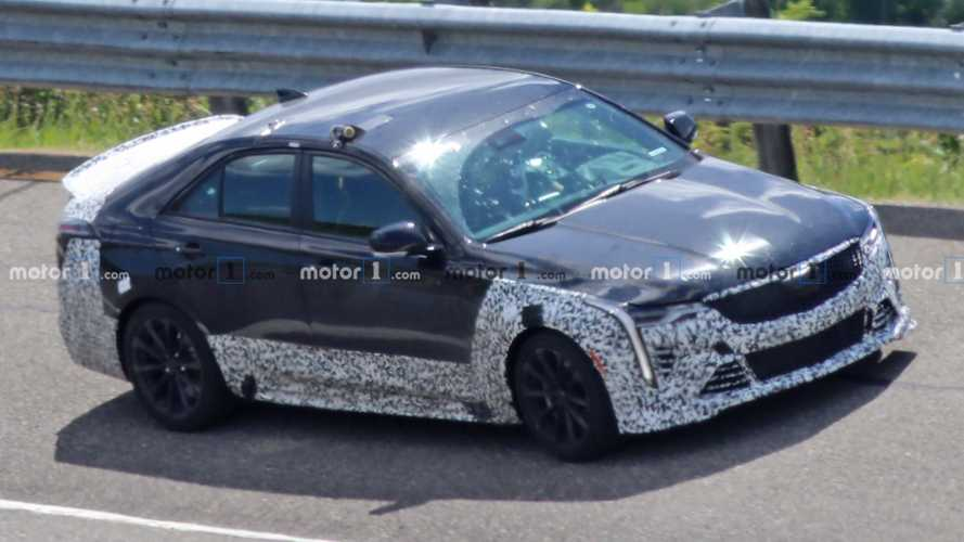 Cadillac CT4-V Blackwing Finally Spied Getting A Proper Workout