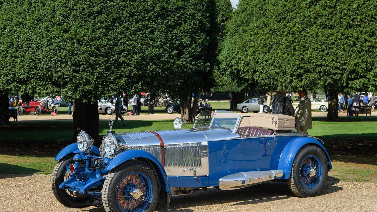 1927 Mercedes-Benz Boat Tail claims Concours of Elegance victory