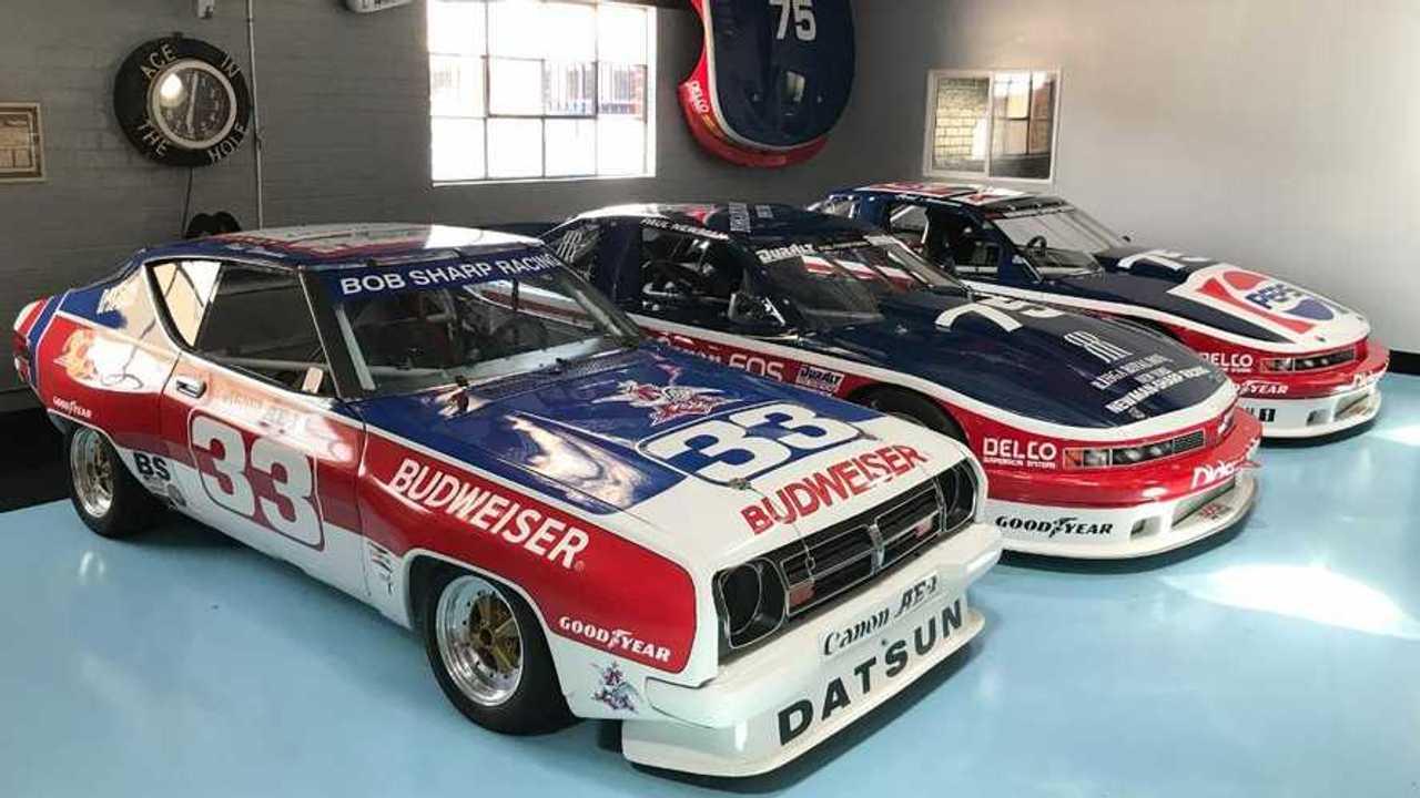 Inside Adam Carolla's collection of Paul Newman classic race cars