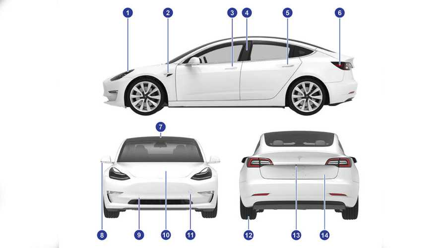 В Сети появилось руководство по эксплуатации Tesla Model 3