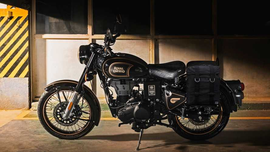 Royal Enfield Classic Tribute Black