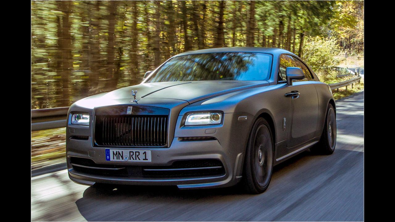 Spofec veredelt Rolls-Royce Wraith