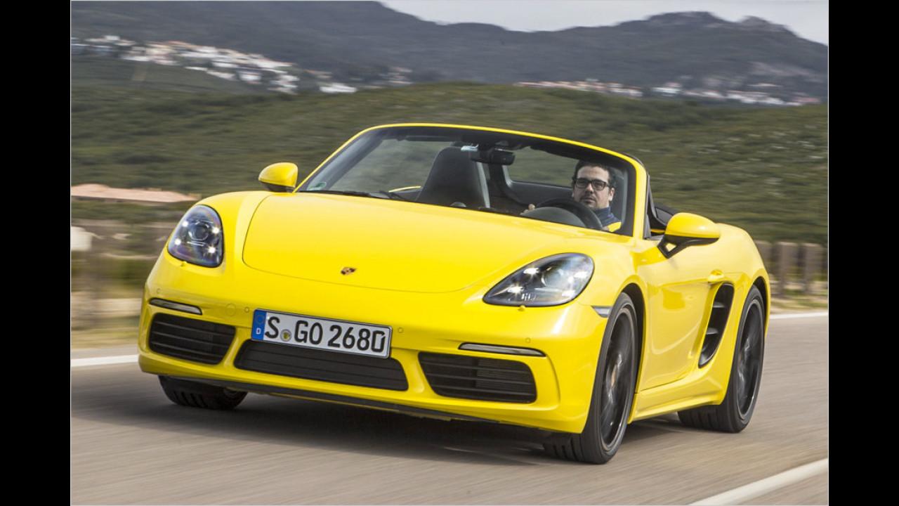 Roadster: Porsche 718 Boxster