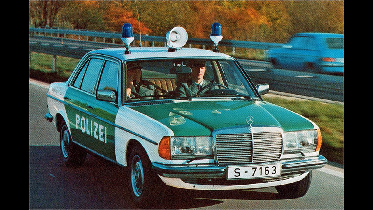 Mercedes W 123 Polizei