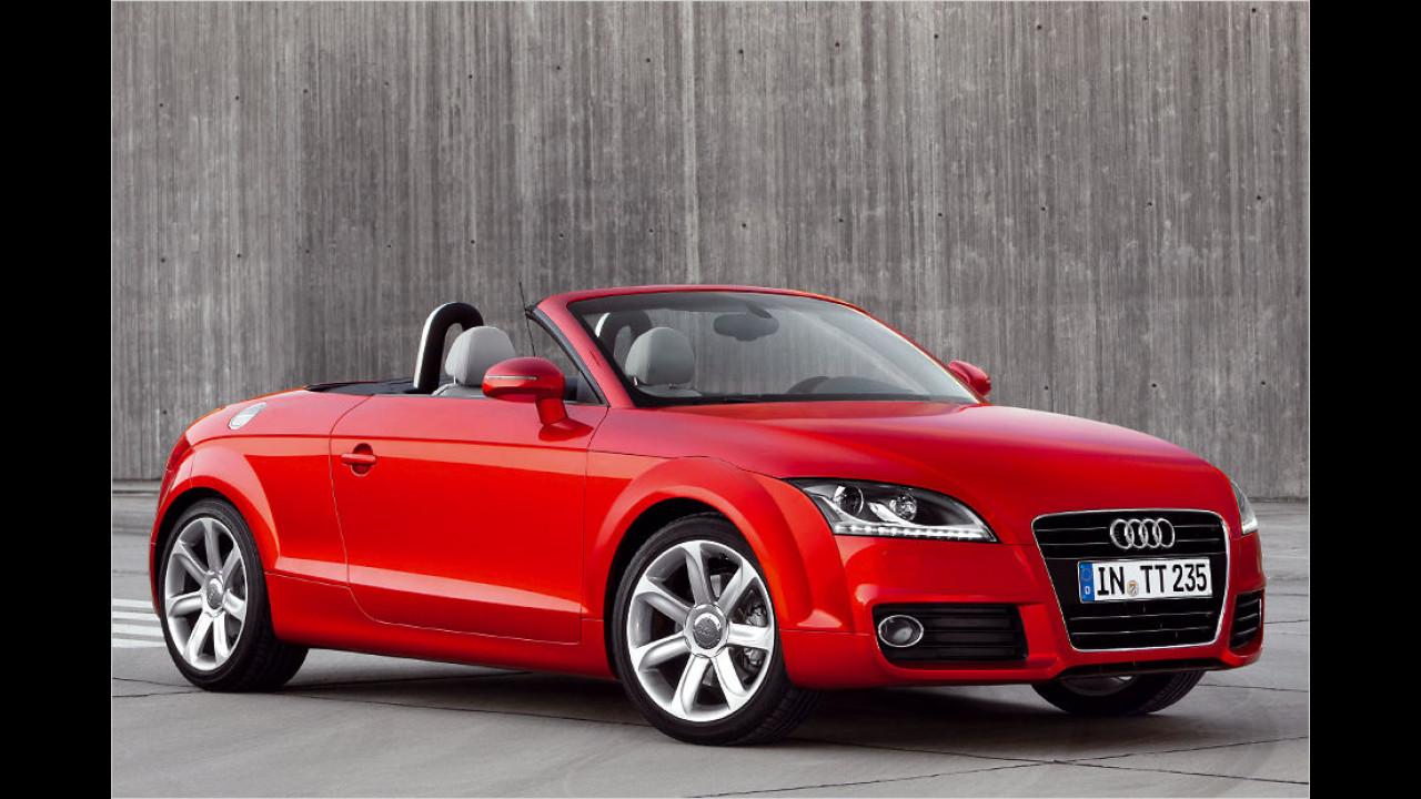 Audi TT (12 Sekunden, bis 50 km/h)