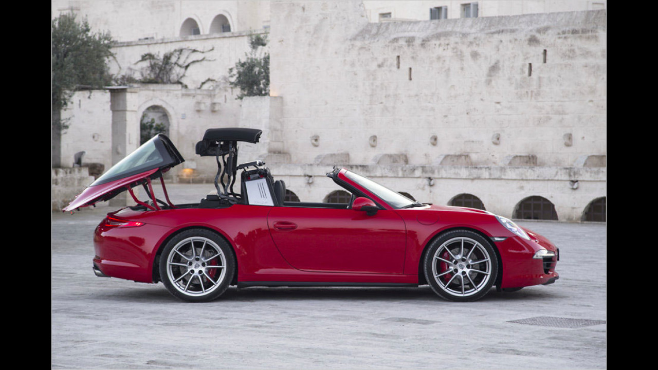 Porsche 911 Targa 4 (20 Sekunden-Ballett, nur im Stand)