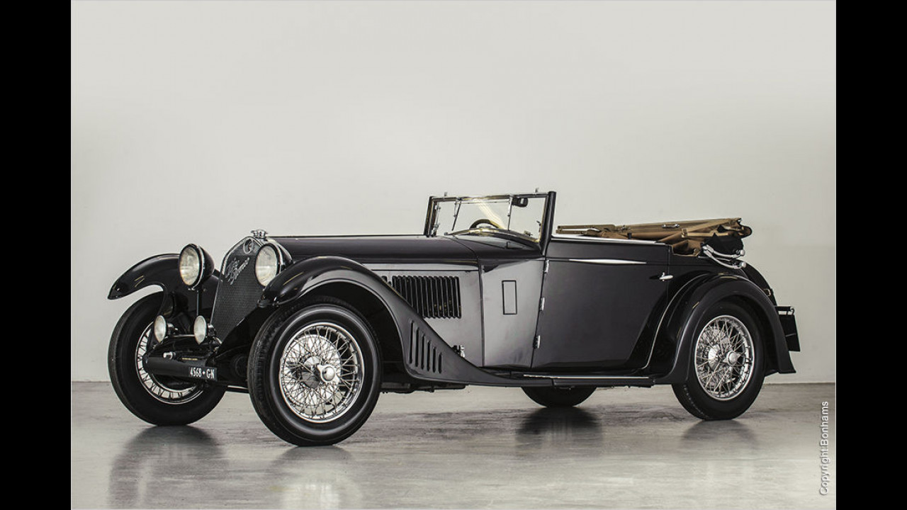 Alfa Romeo 6C 1750 Grand Sport (1930): 1.184.500 Euro
