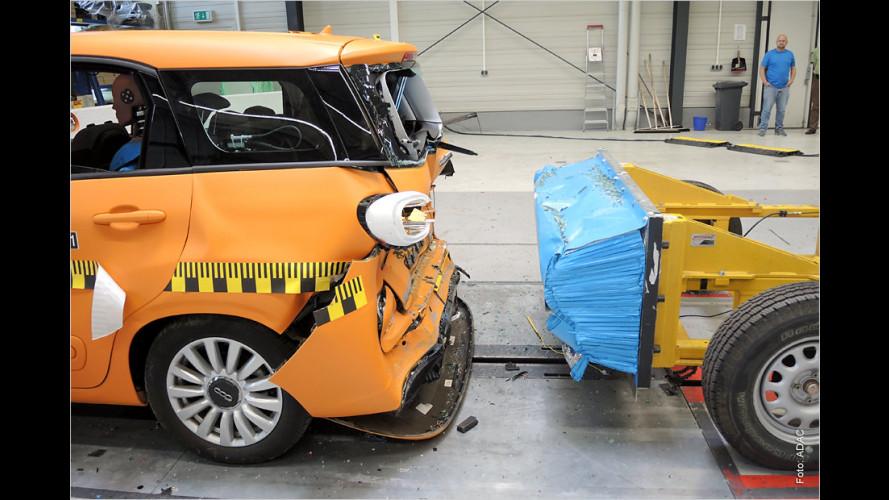 ADAC-Crashtest: Wie sicher ist die dritte Sitzreihe?