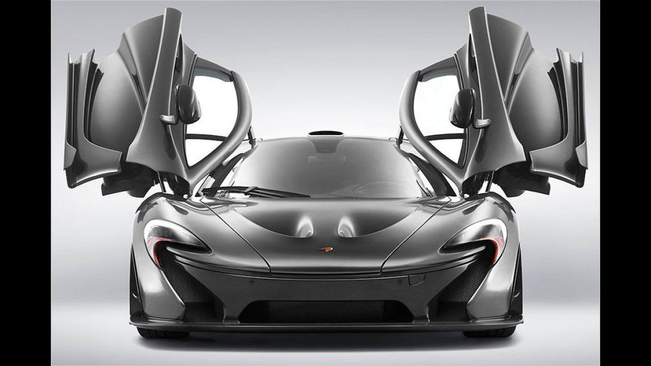 McLaren P1 MSO debütiert in Pebble Beach