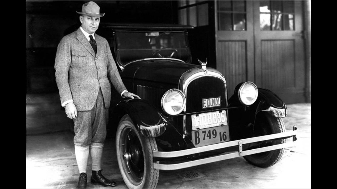 1924: Gründung von Chrysler