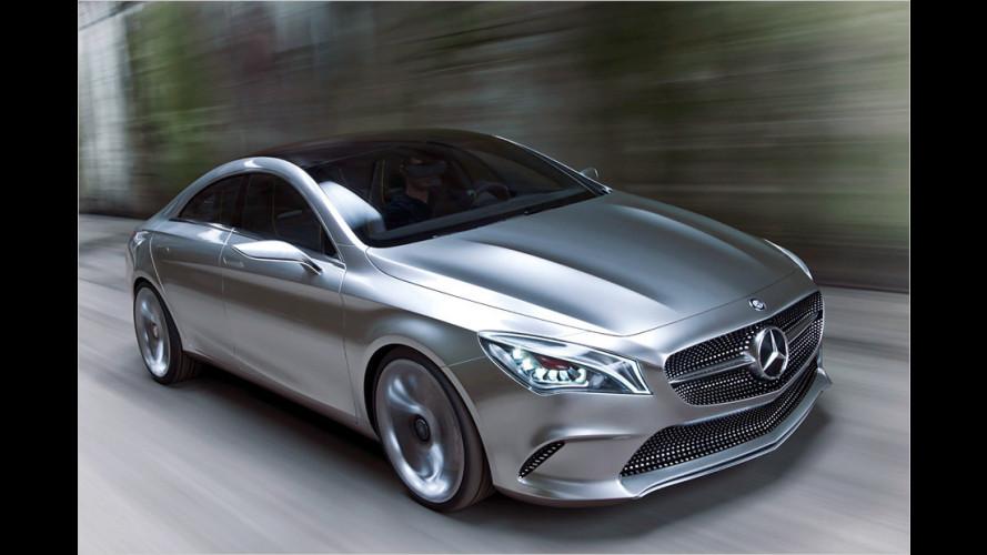 Mercedes Concept Style Coupé: Studie als Ausblick auf den CLA