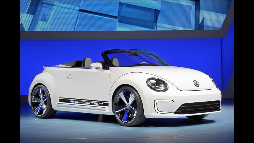 VW E-Bugster: Durchgehend geöffnet