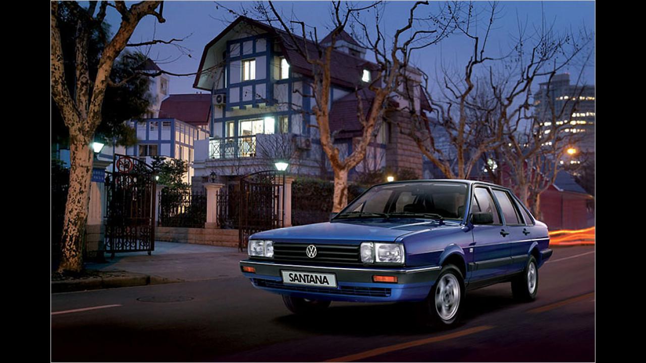 VW Santana (China)