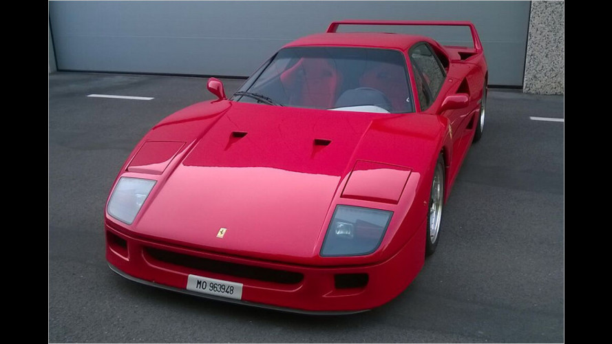 Ferrari F40 bringt Rekord-Erlös