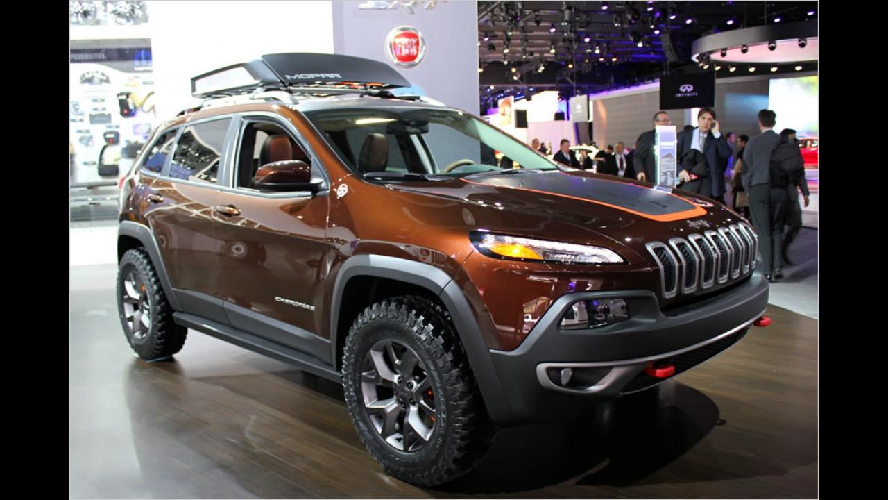 Mopar Jeep Cherokee Trail Carver