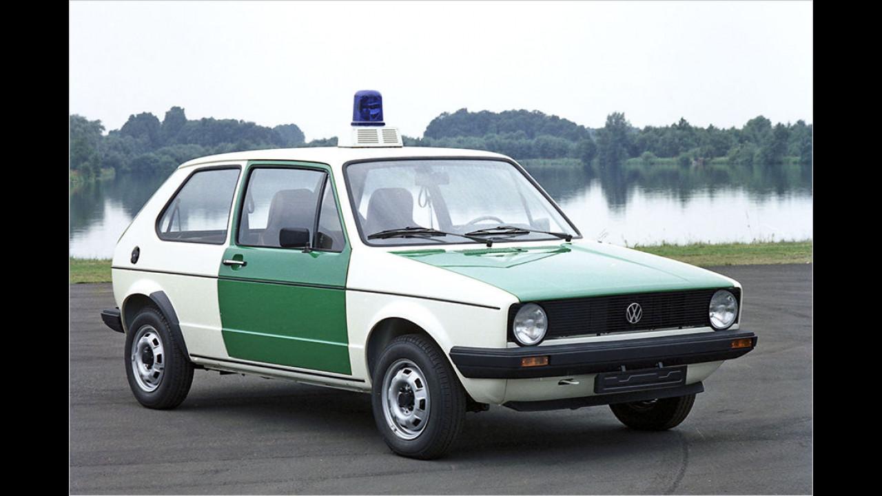VW Golf I Polizei