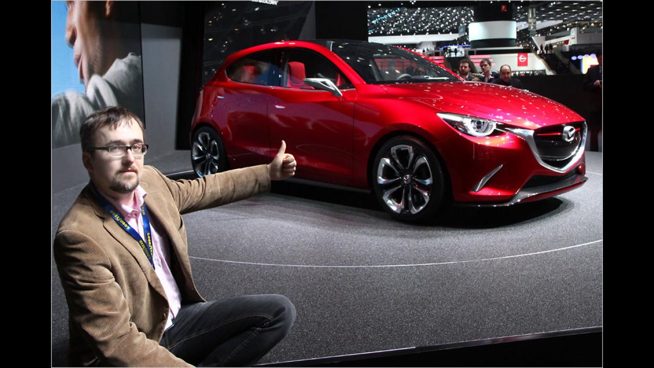 Top: Mazda Hazumi