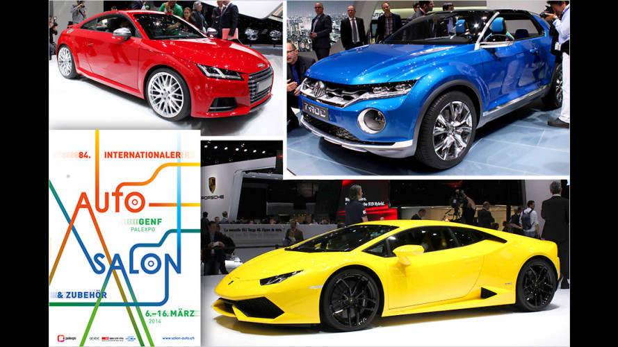 Die Highlights des Genfer Autosalon 2014