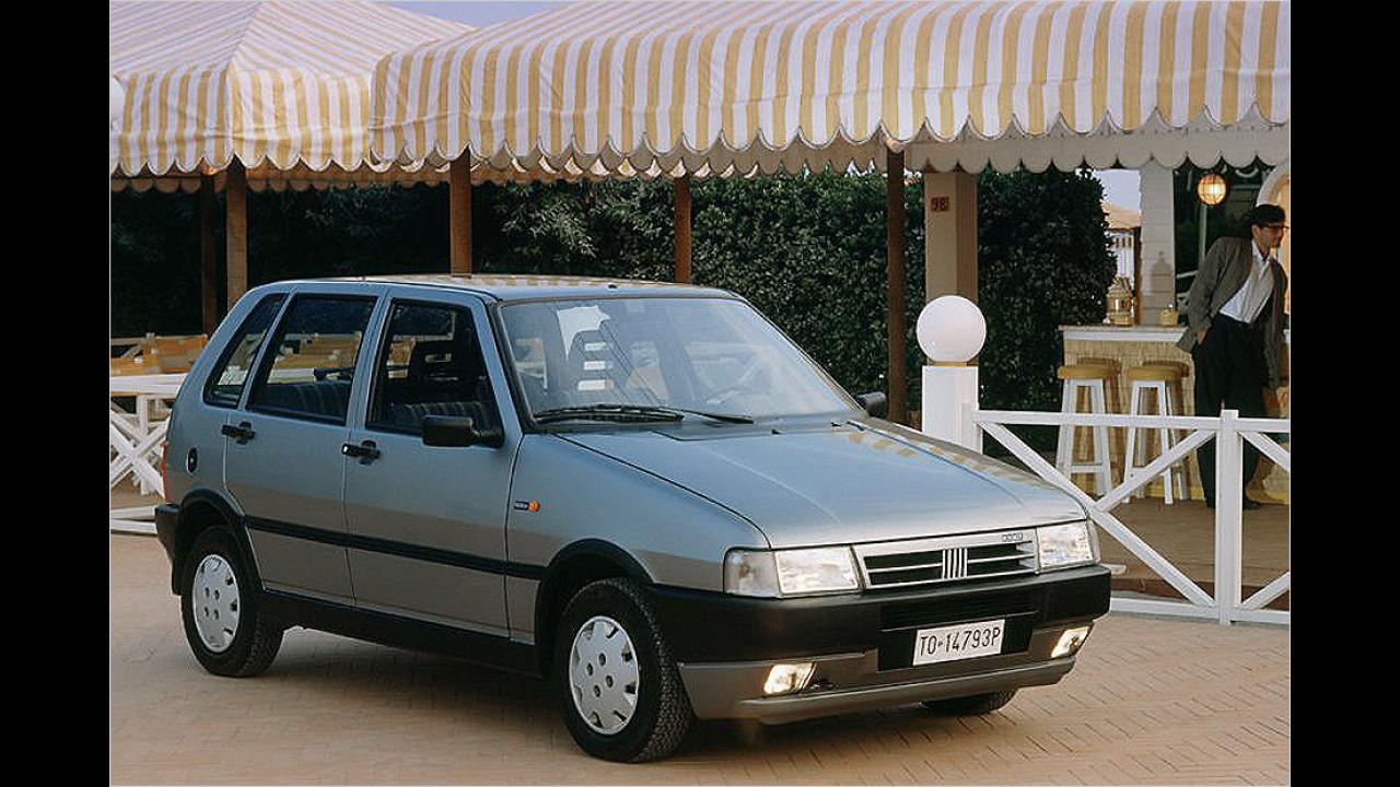 Fiat Uno: 9 Millionen (seit 1983)