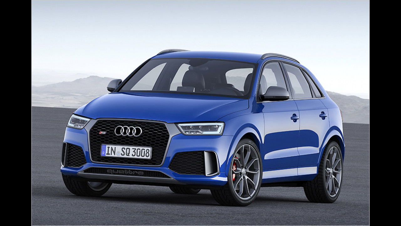 2015: Audi RS Q3 Performance