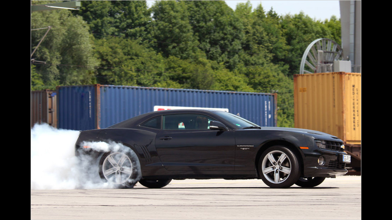 Platz 6: 432 PS im Chevrolet Camaro