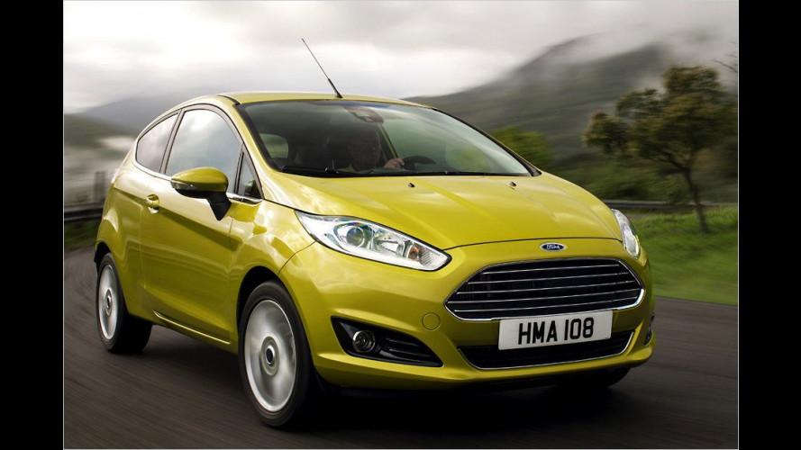 Diesel-Fiesta und Benziner-Focus noch sparsamer