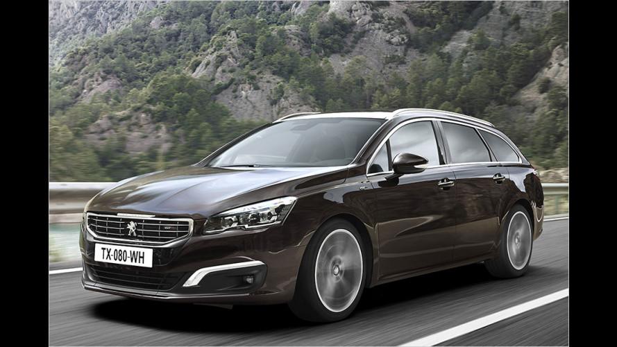 Peugeot 508 nach dem Facelift im Test