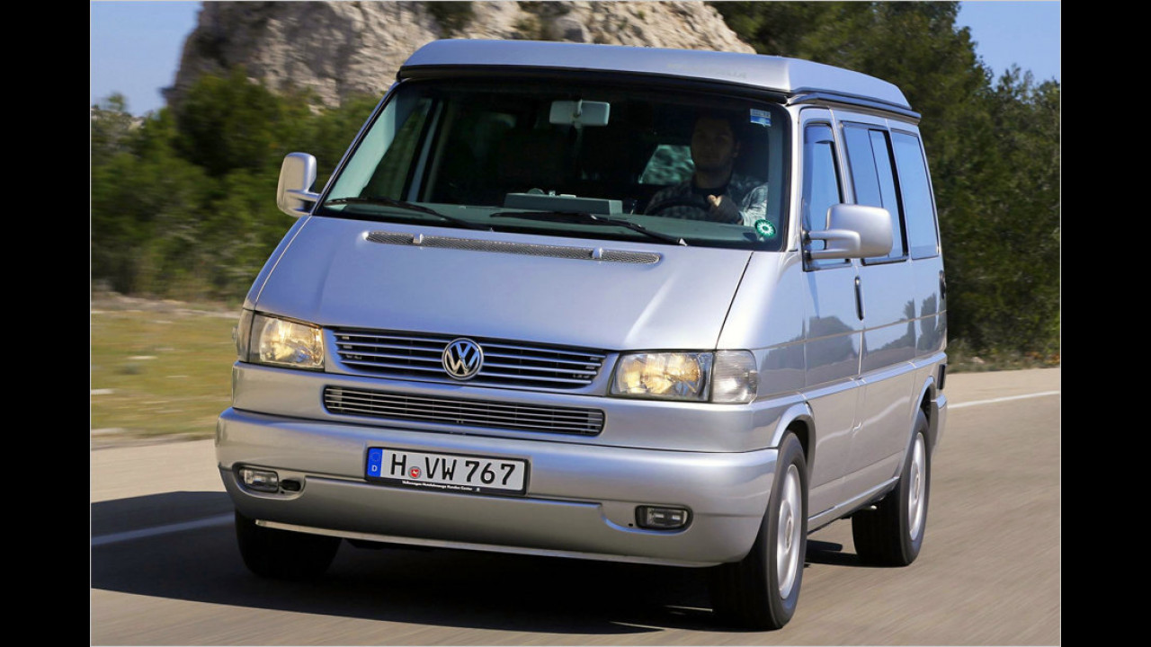 Platz 9: VW T4 Caravelle/Multivan 2.5 TDI