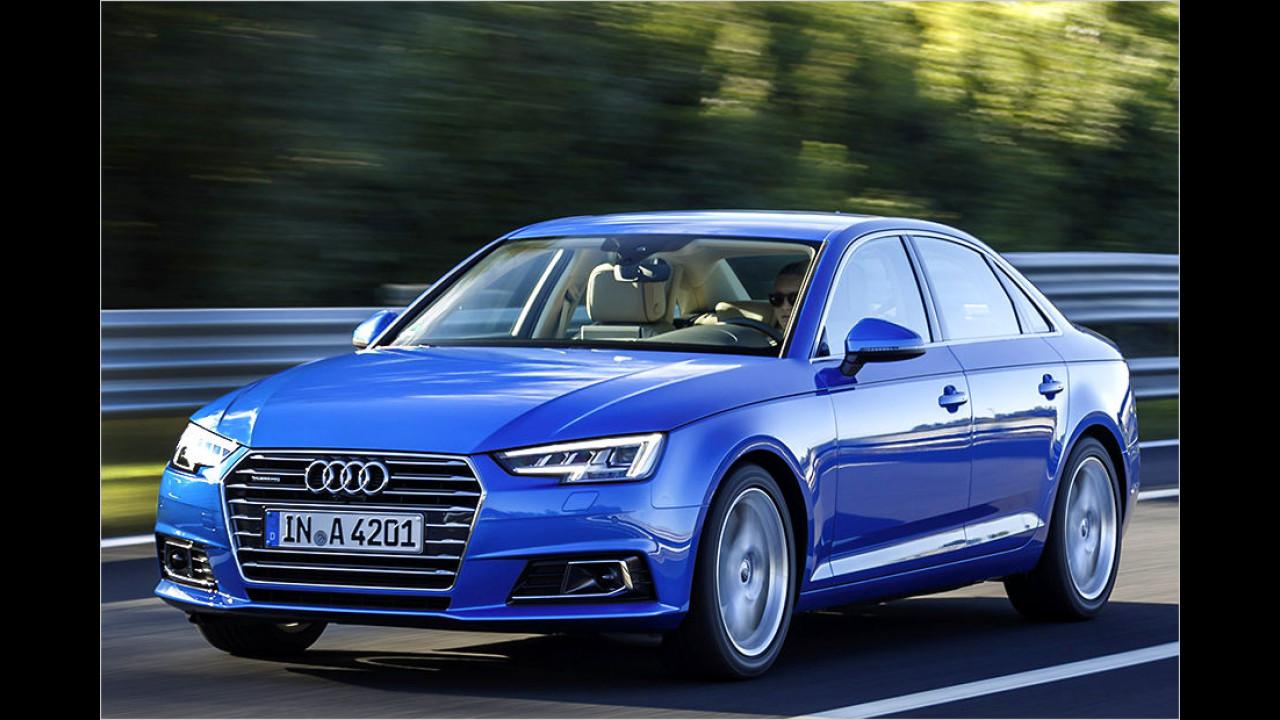 Platz 3: Audi A4